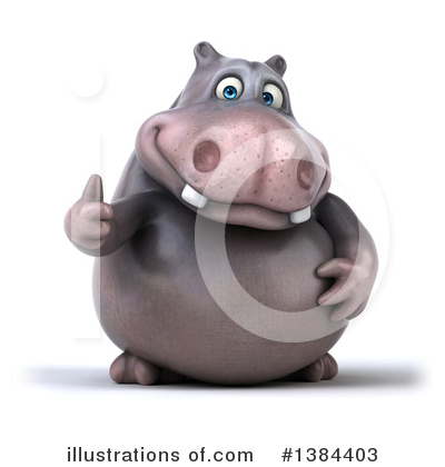 Hippo Clipart #1384403 by Julos