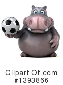 Hippo Clipart #1393866 by Julos