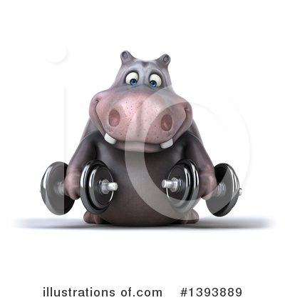 Hippo Clipart #1393889 by Julos