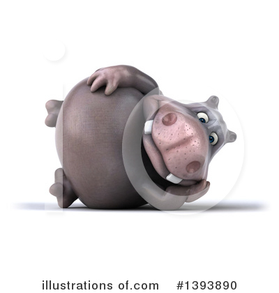 Hippo Clipart #1393890 by Julos