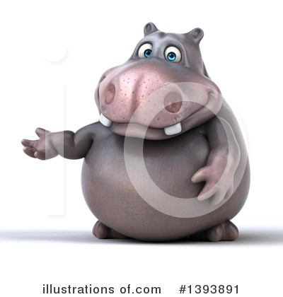 Hippo Clipart #1393891 by Julos