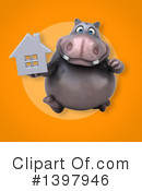 Hippo Clipart #1397946 by Julos