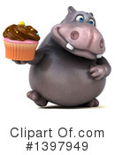Hippo Clipart #1397949 by Julos