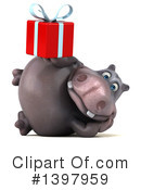 Hippo Clipart #1397959 by Julos