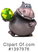 Hippo Clipart #1397976 by Julos