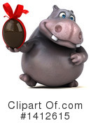 Hippo Clipart #1412615 by Julos