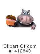 Hippo Clipart #1412640 by Julos