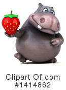 Hippo Clipart #1414862 by Julos