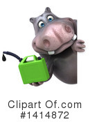 Hippo Clipart #1414872 by Julos