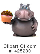 Hippo Clipart #1425230 by Julos