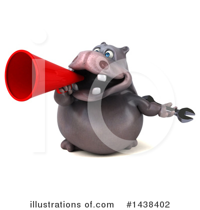 Hippo Clipart #1438402 by Julos