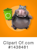 Hippo Clipart #1438481 by Julos