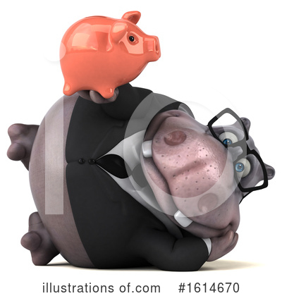 Royalty-Free (RF) Hippo Clipart Illustration by Julos - Stock Sample #1614670