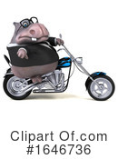 Hippo Clipart #1646736 by Julos