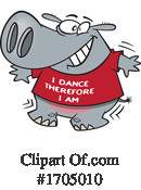 Hippo Clipart #1705010 by toonaday