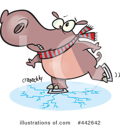 Hippo Clipart #442642 by toonaday