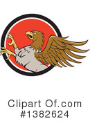 Royalty-Free (RF) Hippogriff Clipart Illustration #1382624