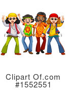 Hippy Clipart #1552551 by Graphics RF