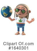 Hippy Clipart #1640301 by Steve Young