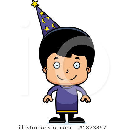 Royalty-Free (RF) Hispanic Boy Clipart Illustration by Cory Thoman - Stock Sample #1323357