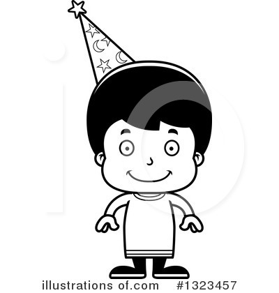 Royalty-Free (RF) Hispanic Boy Clipart Illustration by Cory Thoman - Stock Sample #1323457