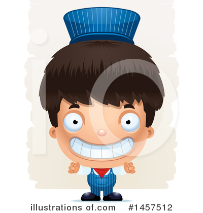 Train Engineer Clipart #1457512 by Cory Thoman