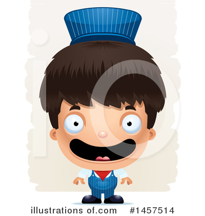 Train Engineer Clipart #1457514 by Cory Thoman