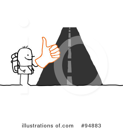 Hitchhiker Clipart #94883 by NL shop