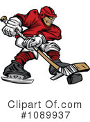 Hockey Clipart #1089937 by Chromaco