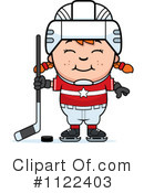 Royalty-Free (RF) Hockey Clipart Illustration #1122403