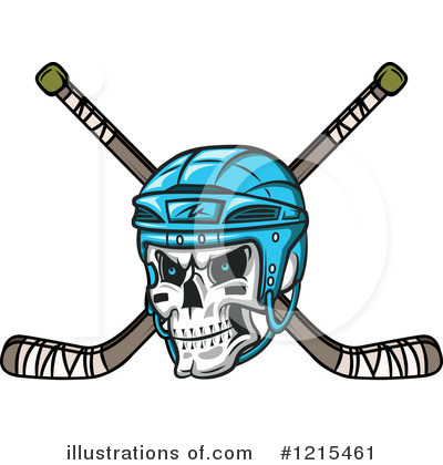 Royalty-Free (RF) Hockey Clipart Illustration by Vector Tradition SM - Stock Sample #1215461