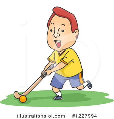 Hockey Clipart #1227994 by BNP Design Studio