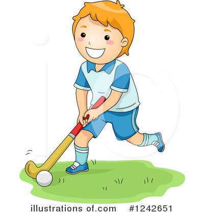 Hockey Clipart #1242651 by BNP Design Studio