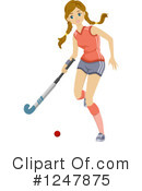 Hockey Clipart #1247875 by BNP Design Studio