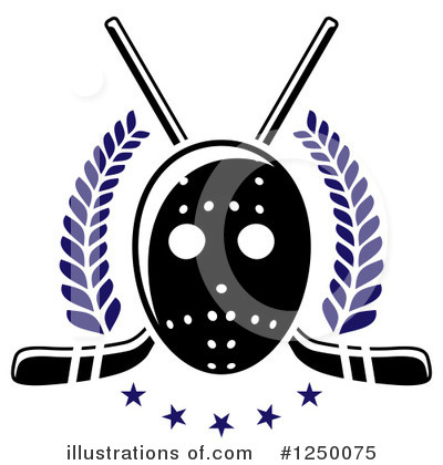 Hockey Clipart #1250075 by Vector Tradition SM