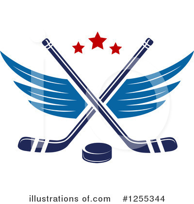 Hockey Clipart #1255344 by Vector Tradition SM