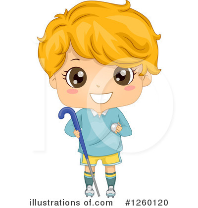 Hockey Clipart #1260120 by BNP Design Studio