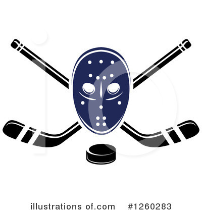 Hockey Clipart #1260283 by Vector Tradition SM