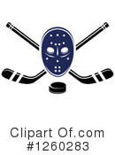 Royalty-Free (RF) Hockey Clipart Illustration #1260283