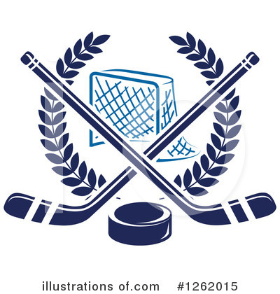 Hockey Clipart #1262015 by Vector Tradition SM