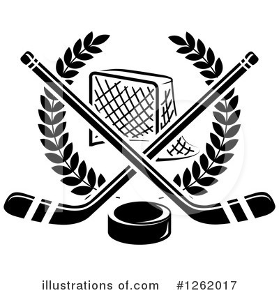Hockey Clipart #1262017 by Vector Tradition SM