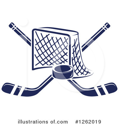 Hockey Clipart #1262019 by Vector Tradition SM