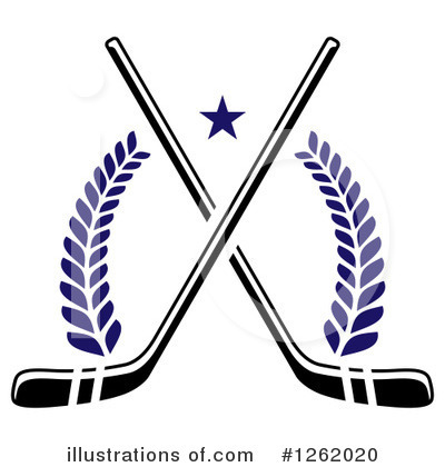 Hockey Clipart #1262020 by Vector Tradition SM