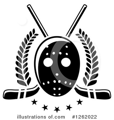 Hockey Clipart #1262022 by Vector Tradition SM