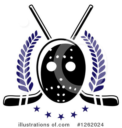 Hockey Clipart #1262024 by Vector Tradition SM
