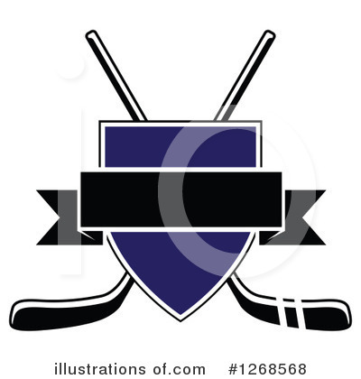 Hockey Clipart #1268568 by Vector Tradition SM