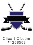 Royalty-Free (RF) Hockey Clipart Illustration #1268568