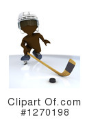Hockey Clipart #1270198 by KJ Pargeter