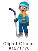 Hockey Clipart #1271778 by BNP Design Studio