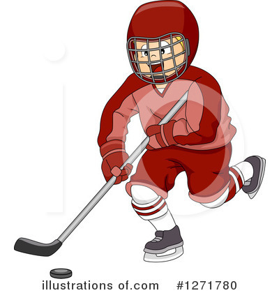 Hockey Clipart #1271780 by BNP Design Studio